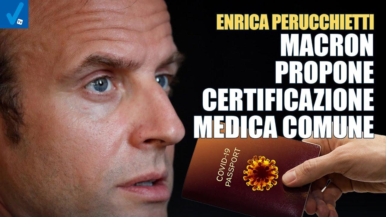 Macron-punta-ad-una-certificazione-medica-comune