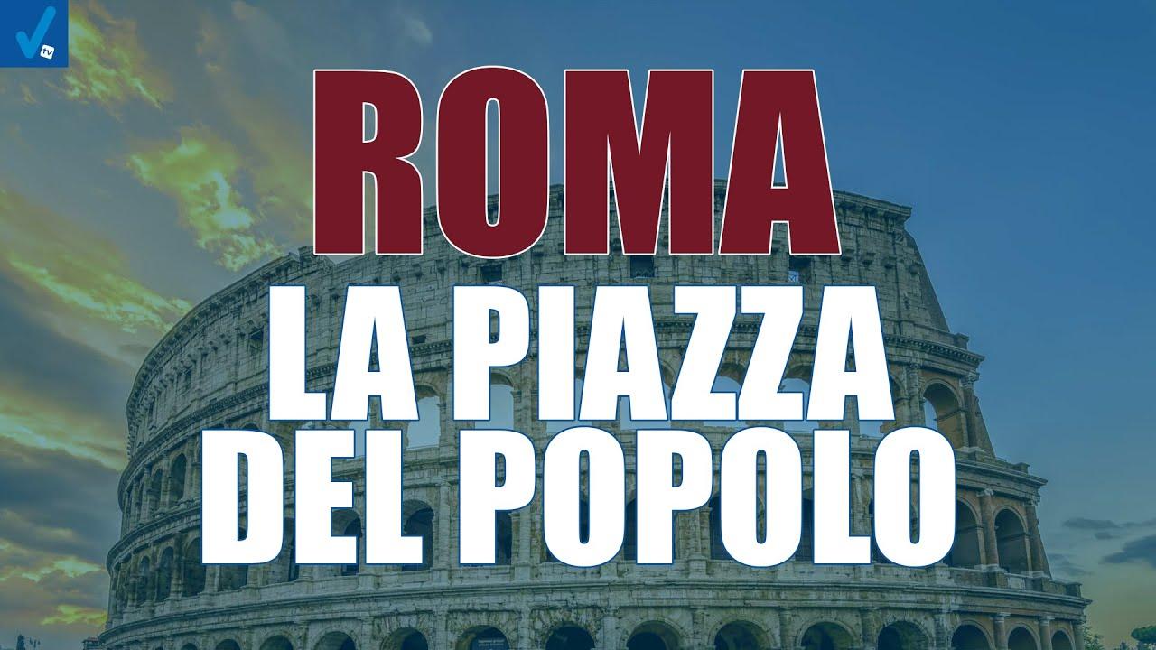 Roma-la-piazza-del-popolo