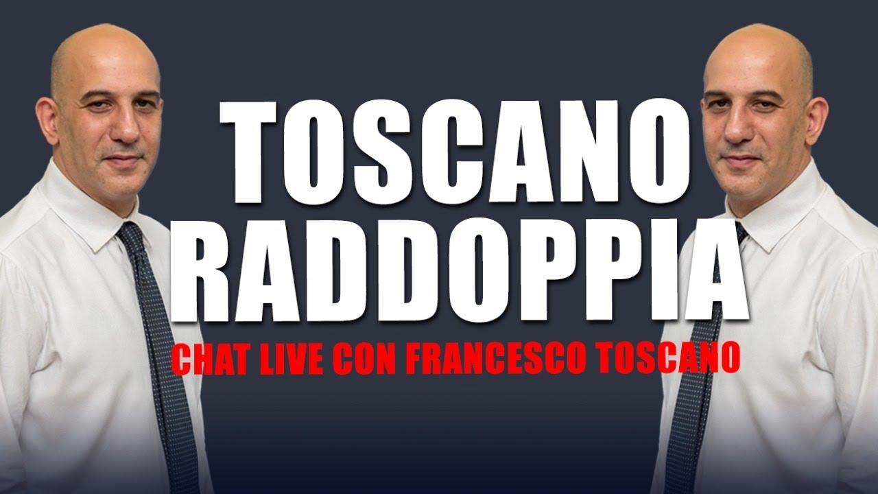 Toscano-raddoppia-Live-con-Francesco-Toscano-16-Luglio-2021