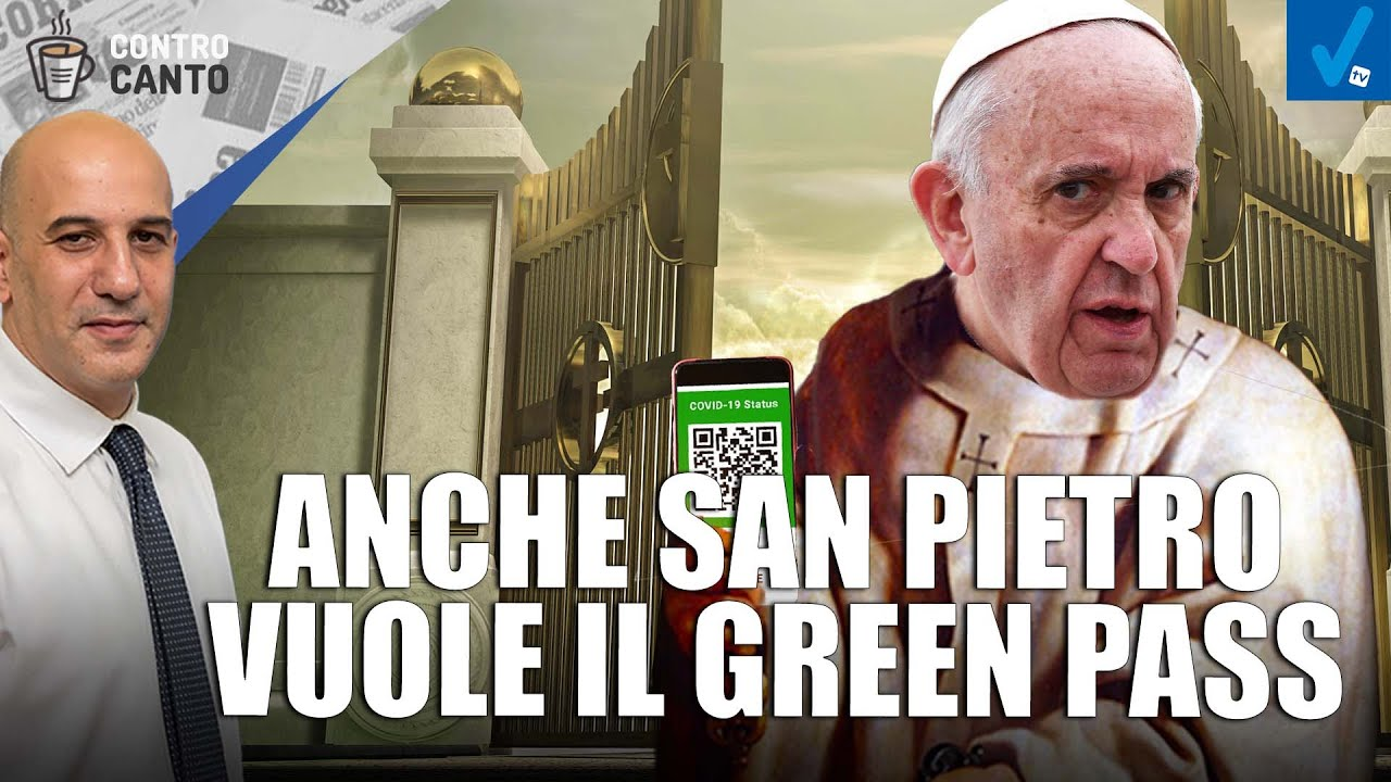 Anche-San-Pietro-vuole-il-green-pass-Il-Controcanto-Rassegna-stampa-del-20-Settembre-2021